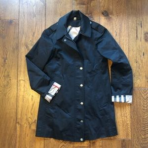 Burberry Straight Trench Coat